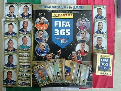 Album Fifa 365 2016 2017 panini set completo 672 stickers