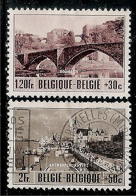 BELGIUM Old Rarely Seen Stamps - City Scenery