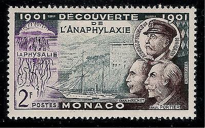MONACO 1901 Old Mint Stamp - Anaphylaxis Discovering