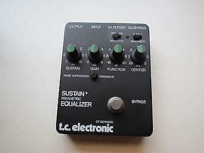 TC Electronic T.C. Sustain + Parametric Equalizer Effect Pedal