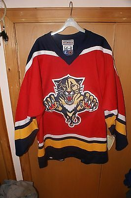 Florida Panthers Authentic Center Ice Road Jersey