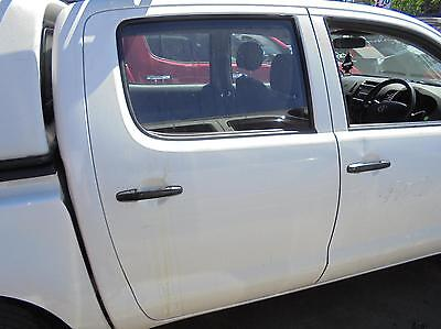 Toyota Hilux Right Rear Door Window Green Tint, 03/05-08/15 05 06 07 08 09 10 11