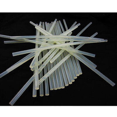 Melt White Translucence 10pcs Glue Adhesive Stick 190mm 7mm Fit for Glue Gun QW