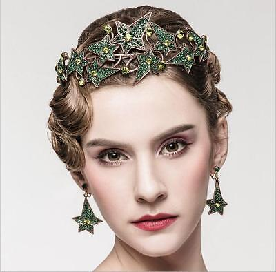 Luxury Retro Baroque Bridal Crown Tiara Wedding Party Bride Hair Headdress New