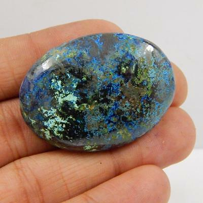 84.5 Cts 100% NATURAL AZURITE BEAUTIFUL COLOUR AND QUALITY CABOCHON L#163-52