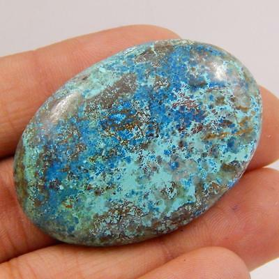 78.9 Cts 100% NATURAL AZURITE BEAUTIFUL COLOUR AND QUALITY CABOCHON L#163-18