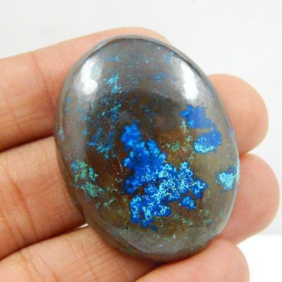 117.8 Cts 100% NATURAL AZURITE BEAUTIFUL COLOUR AND QUALITY CABOCHON L#164-58