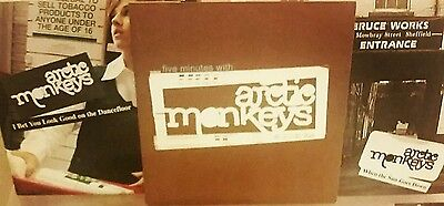 "Arctic Monkeys 2005 Release 5 Minutes With 7"" Inch Vinyl Mint Condition Plus"