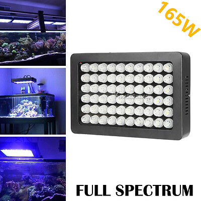 216W Dimmable Aquarium Fish LED Light Bar Plant Growth Coral Reef Marine Remote