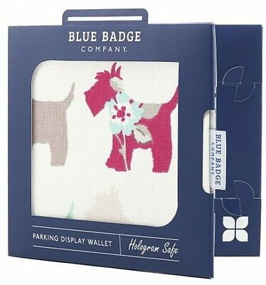 Blue Badge Company Scotties Hologram-Safe Disabled Parking Permit Holder And