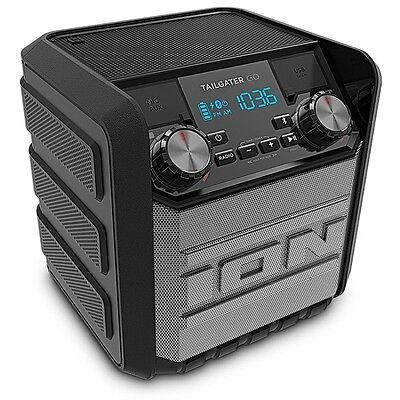 Ion Tailgater GO Splash-Resistant Compact Wireless Bluetooth Portable Speaker