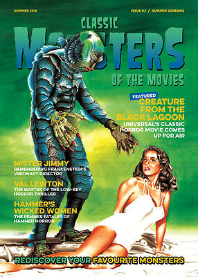 Classic Monsters Magazine Issue 3: Horror Film and Horror Movie Magazine