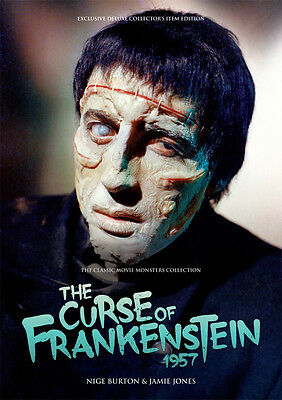 The Curse of Frankenstein Chris Lee Peter Cushing Hammer horror movie magazine