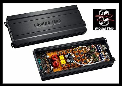 GROUND ZERO GZPA 1.4K-HCX 1-CHANNEL, 5000W 5kW RMS, NEW, POWER YOUR MONSTERS