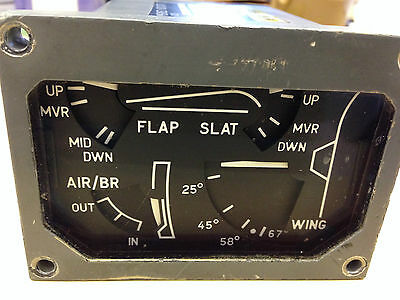 RAF Panavia Tornado GR4 Combined Control Surface Position Indicator
