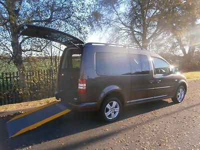 2013 Volkswagen Caddy Maxi Life 1.6 TDI 5dr AUTOMATIC WHEELCHAIR ACCESSIBLE V...