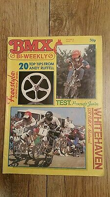 Bmx Bi Weekly Magazine Freestyle Vol 4 Issue 17 Tips From Andy Ruffell.