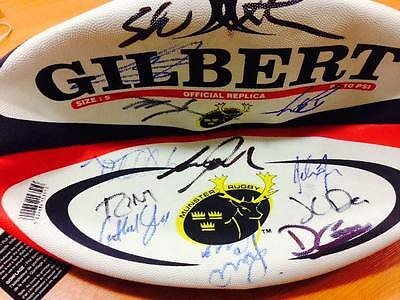 Signed Munster Rugby Replica Ball
