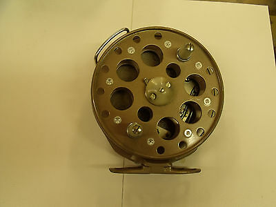 Grice & Young Centre pin reel - grayling fishing