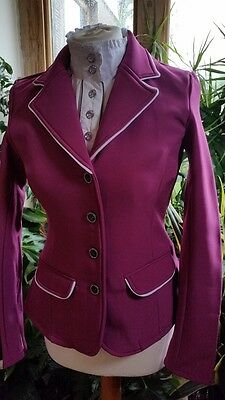 Sale!!  Harry's Horse  Ladies Softshell Competition Jacket  Pink/white