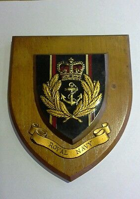 Military Armed Forces Royal Navy wall plaque