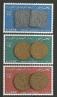 ALGERIA. 1977. Ancient Coins Set. SG: 731/33. Mint Never Hinged.