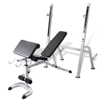 S# New Fitness Multi-station Home Gym Weight Bench Curl Press Incline AB Exercis