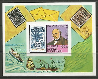 MAURITANIA. 1979. Death Centenary of Rowland Hill. SG: MS618. Mint Never Hinged.