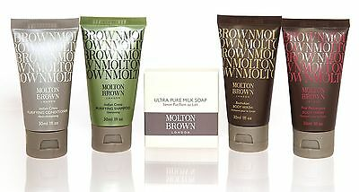 MOLTON BROWN London THE ESSENTIALS HAIR AND BODY SET 5 PIECE GIFT BOXED