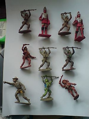 Cherilea toy soldiers from the 60's 10 in number