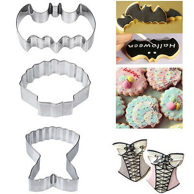 Batman Stainless Steel DIY Cookie Fondant Biscuit Cutter Mold Cake Decor Mould
