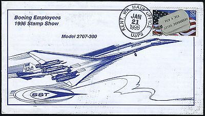 Boeing employee's 1996 stamp show, Kent WA, contents