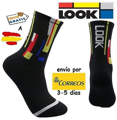 Calcetines Ciclismo Look Socks, Negro
