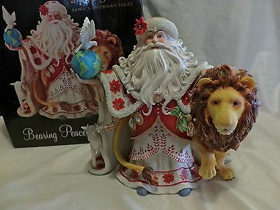 """Enesco Artist Gallery Signed Dean Griff Large 9 1/2"""" The Gift Of Peace Statue"""