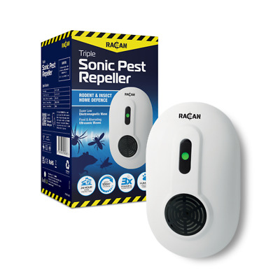 Whole House Rodent Repeller Rat Mouse Mice Deterrent Repellent Ultrasonic Plugin