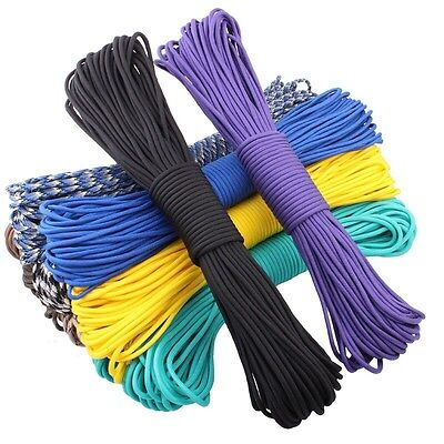 550 paracord 100ft Type III 7 Strand Survival Equipment