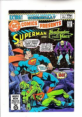 DC Comics Presents 27 Superman and Manhunter from Mars c2 1st app of Mongul