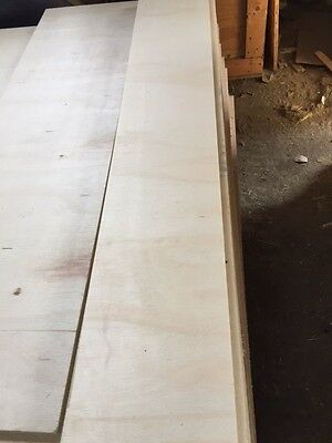 """9mm Brazilian Plywood 48"""" x 12"""" - 50 pieces for £20.00"""