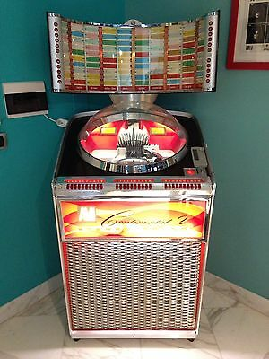 Jukebox Ami Modello CONTINENTAL 2 Stereo 1961 Restaurato