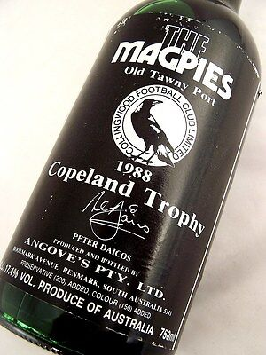1988 ANGOVES The Magpies Copeland Trophy Tawny Port Isle of Wine