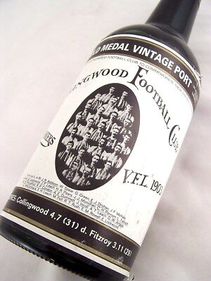 1903 Gold Medal Collingwood Premiership HOFFMANNS 1980 Vintage P Isle of Wine