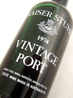 1974 KAISER STUHL Vintage Port Isle of Wine