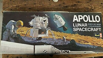 Revell 1/48th scale Apollo Lunar Spacecraft NOT sealed