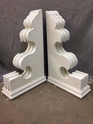 Pair Antique Corbels Shabby Cottage Vintage Chic 2275-16