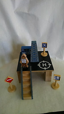 Helicopter Pad Figure Stairs Signs Imaginarium Train