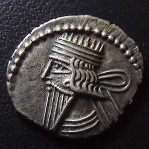 Parthes, Parthian, Vologases III, drachme 105-147, 3,65 grms, Sellwood 78.5 SUPE