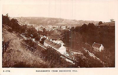 POSTCARD   GLOUCESTERSHIRE   NAILSWORTH    From  Rockness   Hill