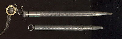 2 Old Silver Mechanical Pencils, One Ingersoll Redipoint & 1 Unmarked