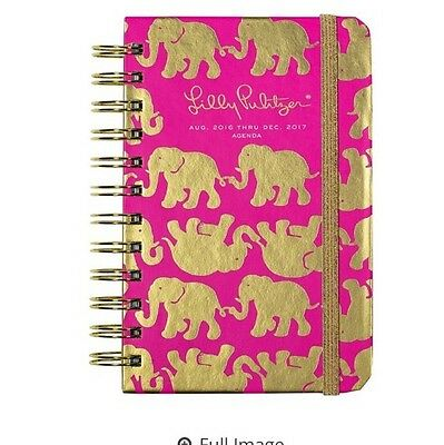 LILLY PULITZER - 2016 - 2017 Agenda - Planner - Tusk in Sun - Pocket Size