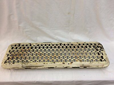 Antique Cast Iron Hot Water Steam Radiator Cover Plant Stand Garden Vtg 2279-16